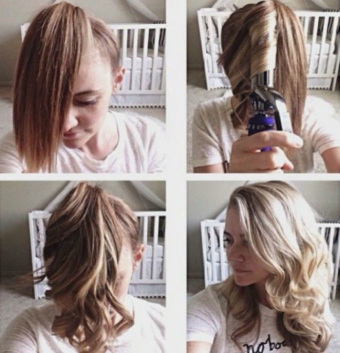 lazy-girl-hair-curl, hair, lazy, style, fashion, beauty, beauty tips for busy days