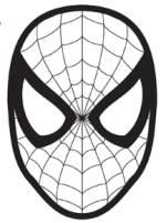 Elf Shelf Spider Man Mask Printable