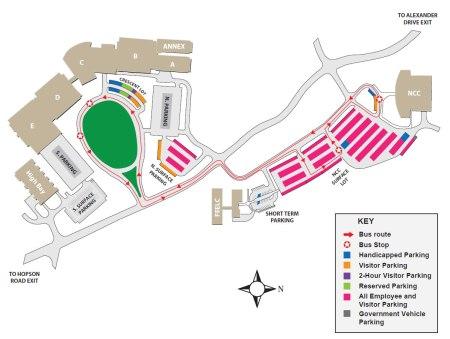Usa Campus Map