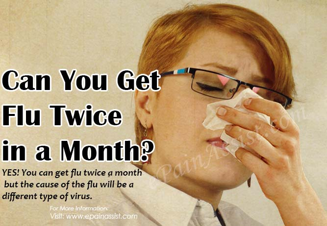 Can You Get Flu Twice in a Month  What To Do When You Have Flu?