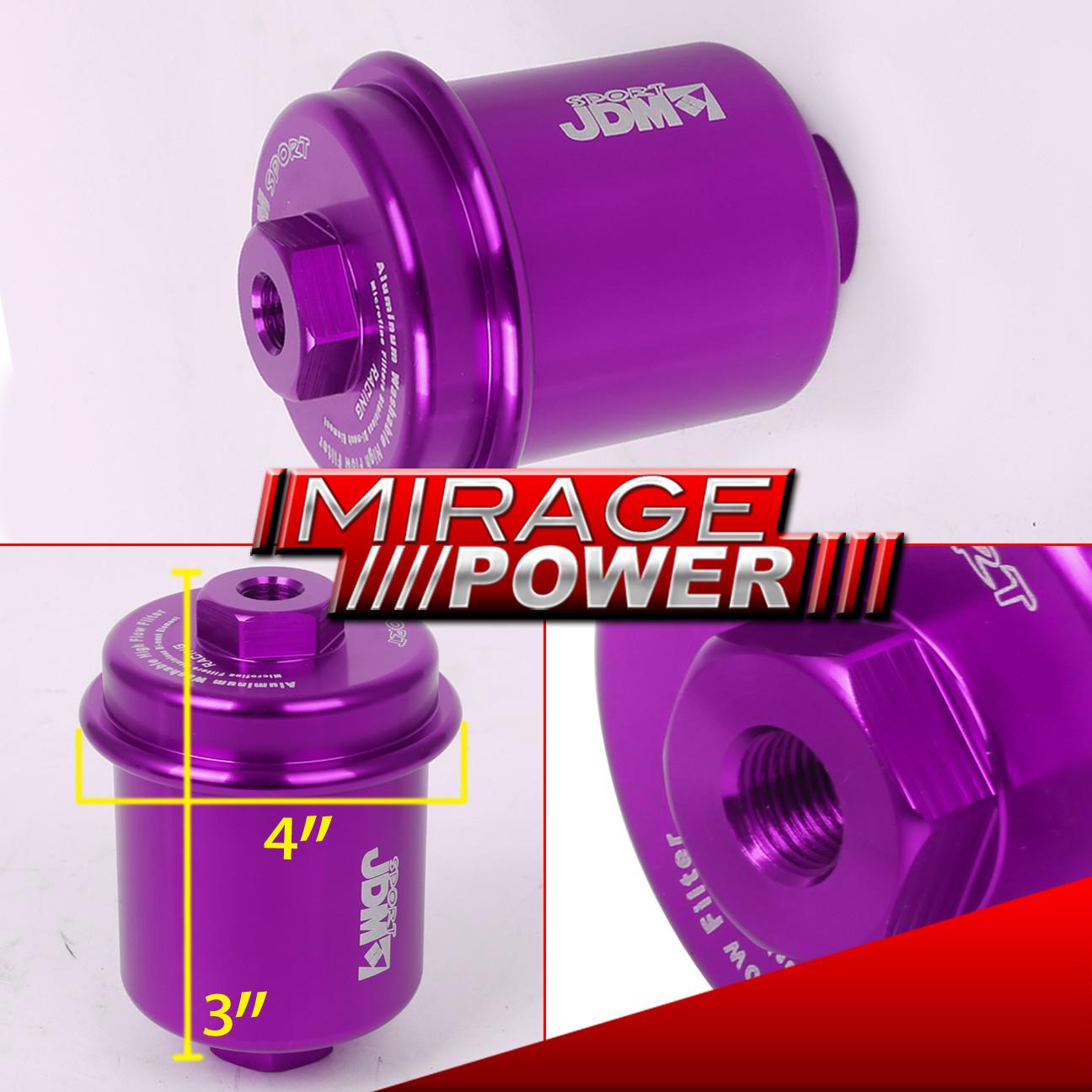JDM SPORT HIGH FLOW FUEL FILTER LEXUS IS250 IS350 SC300 IS300(Fully