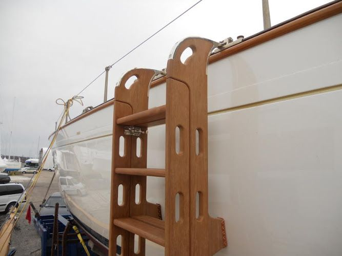 Custom Boarding Ladder Ri Boatwrights