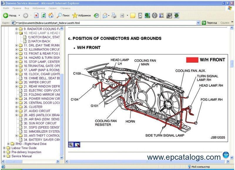 Chevrolet Epica Wiring Diagram - Enwoirep-mannheimde \u2022