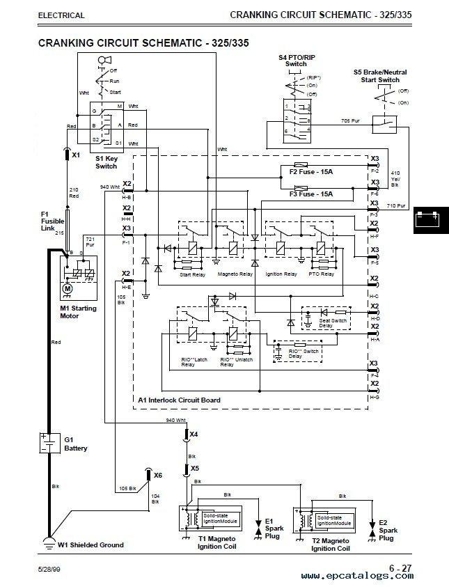 exmark pto wiring diagram