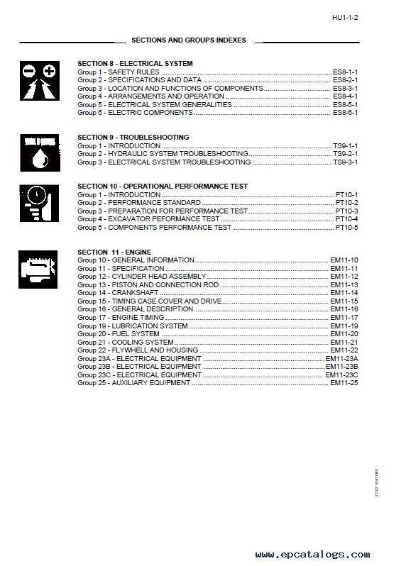 Kobelco Excavator shop manual