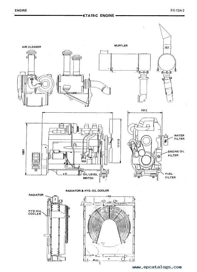 Hitachi Construction Equipment Motor diagram
