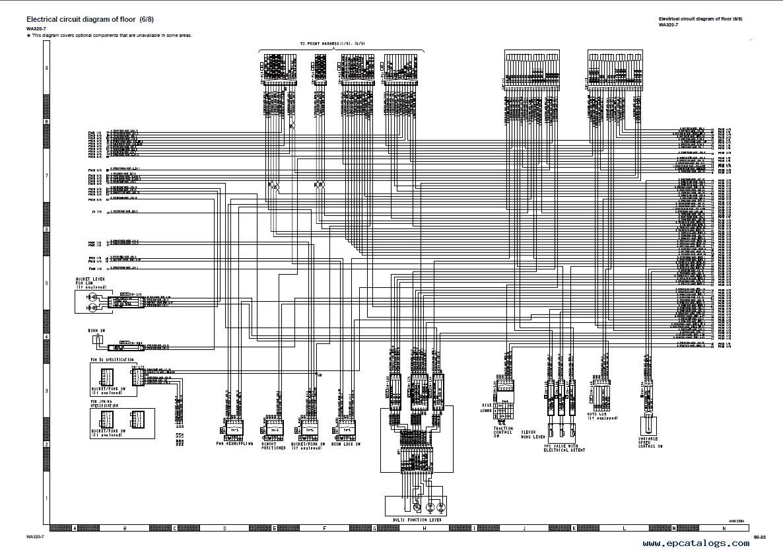 Komatsu Wiring Diagram Simple Options Pc78 Diagrams Wa120 3 Auto Electrical 40
