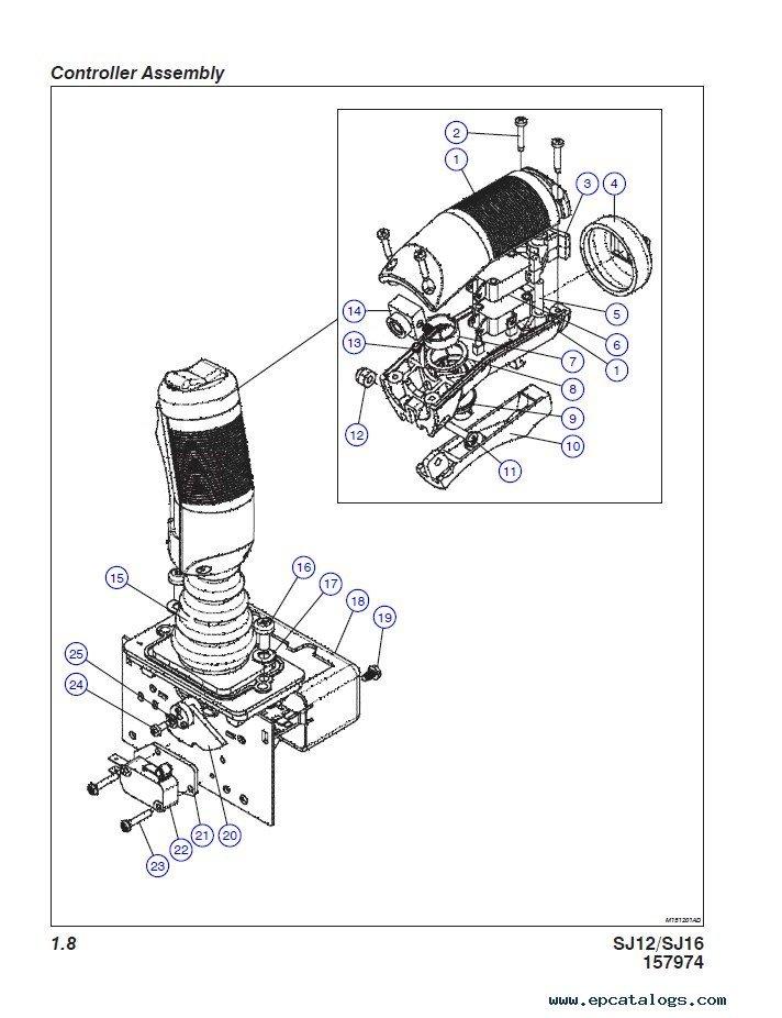 joystick controller wiring diagram skyjack