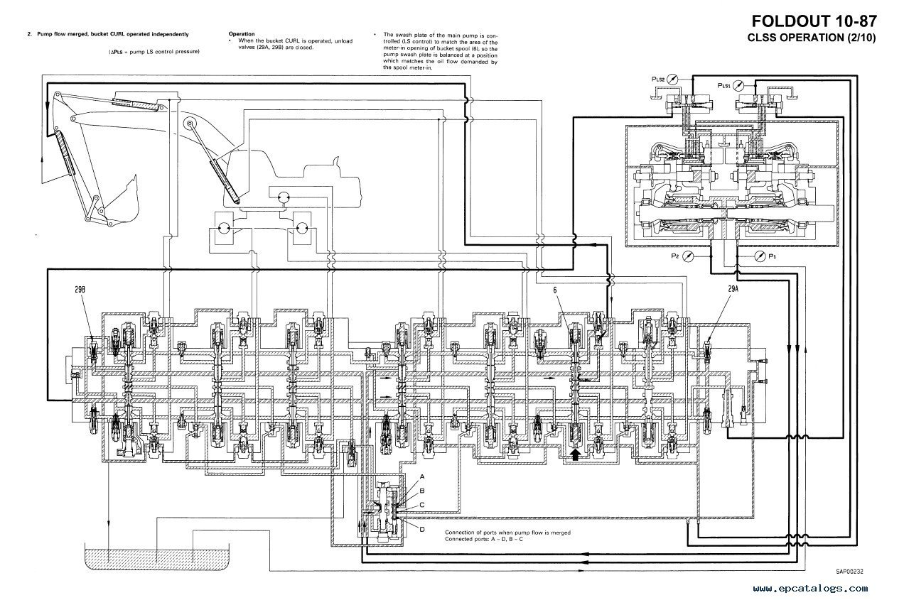 komatsu electrical diagram pc300