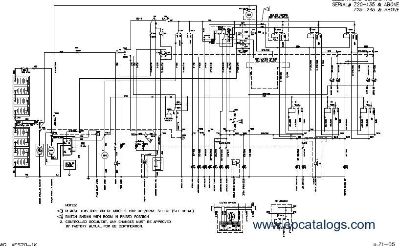 genie 1930 scissor lift wiring diagram