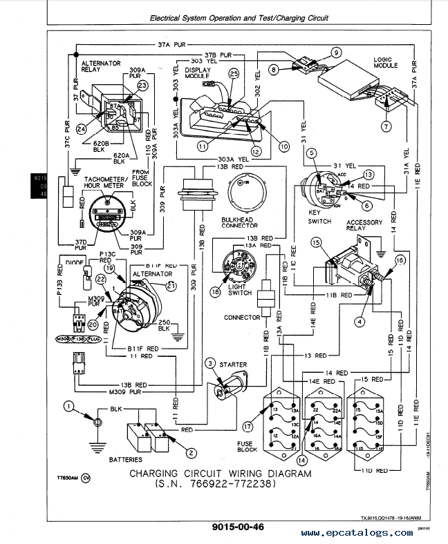 john deere 210c backhoe wiring diagram