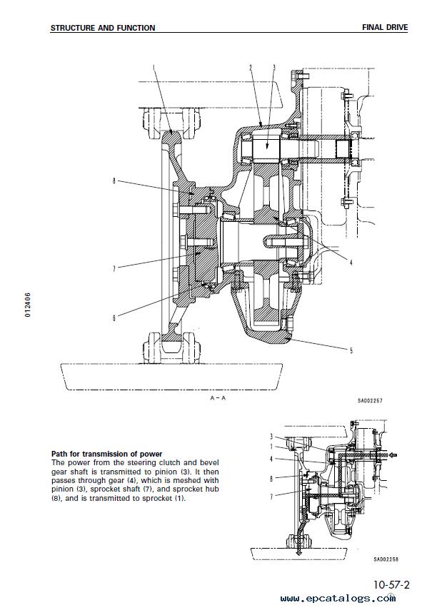komatsu pc200 wiring diagram
