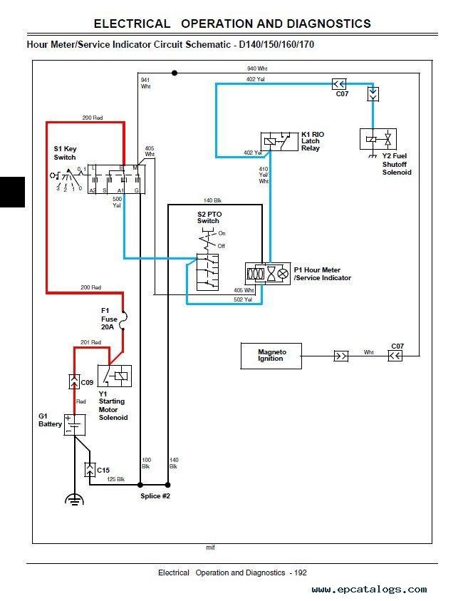 John Deere D110 Diagram Wiring Diagram