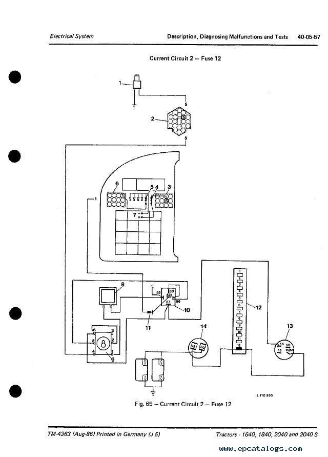 John Deere 2040 Wiring Schematic - Greatddnssde \u2022