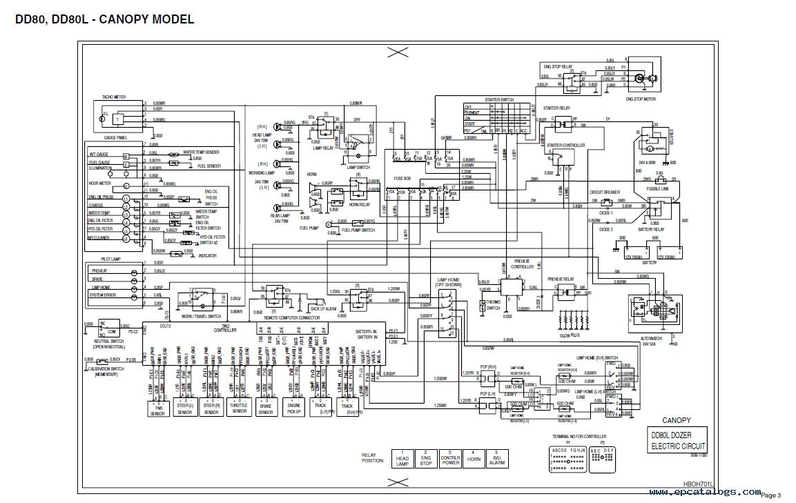 kubota hydraulic schematics
