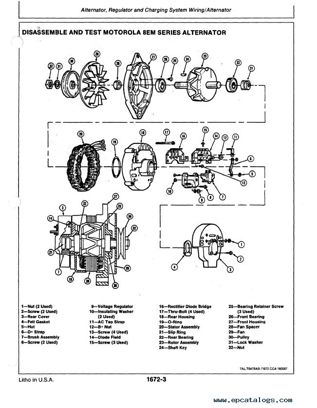 john deere alternator wiring diagram 15 mini exc