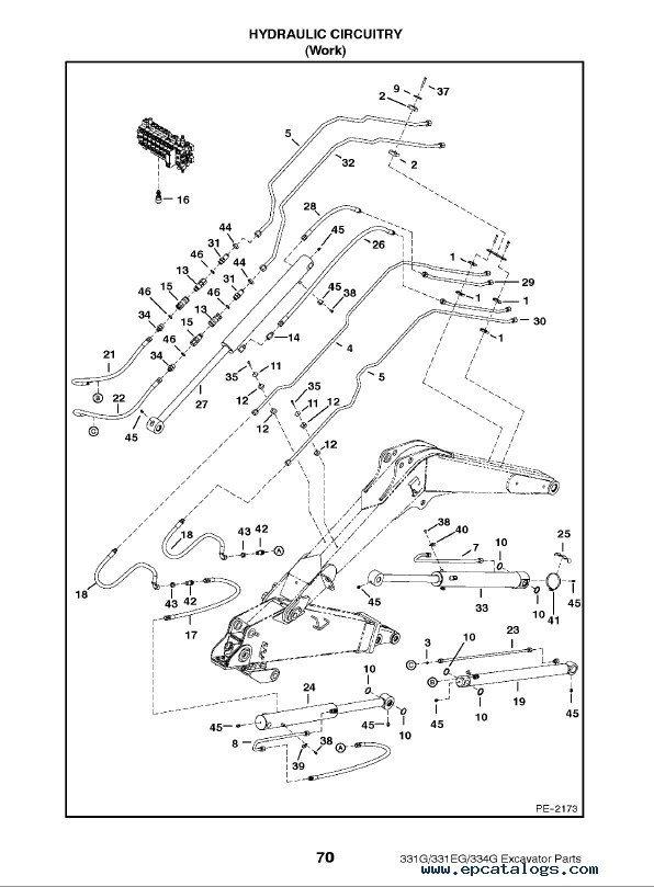 bobcat 425 parts diagram