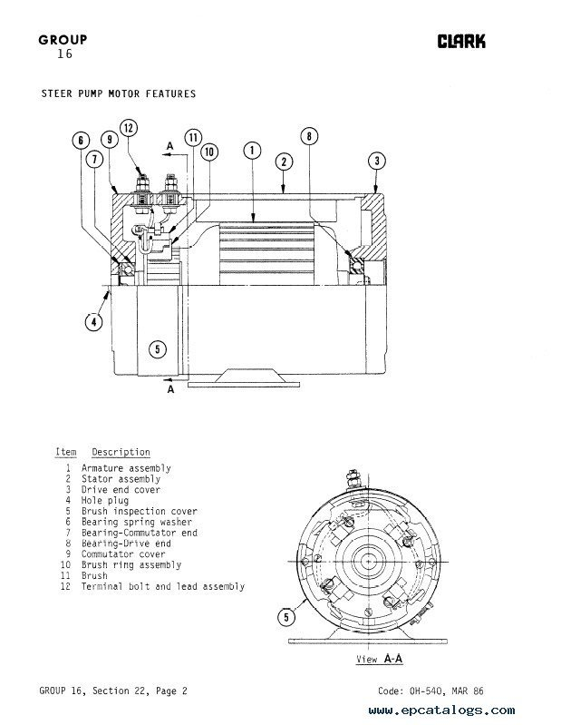 clark bobcat 610 wiring diagram