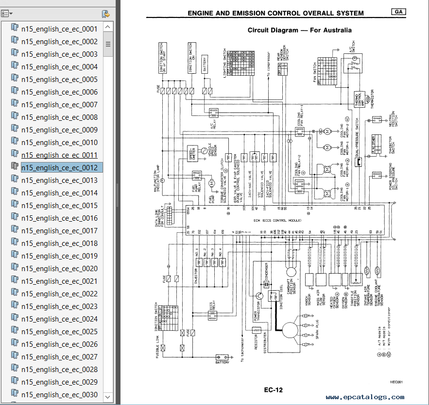 nissan n16 wiring diagram