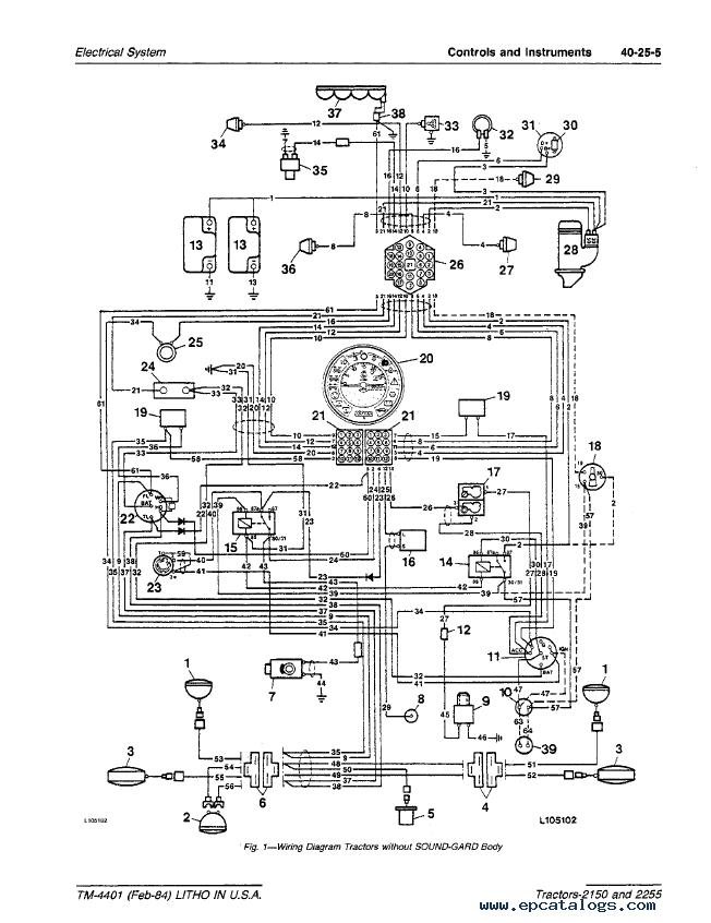 2150 john deere wiring schematics