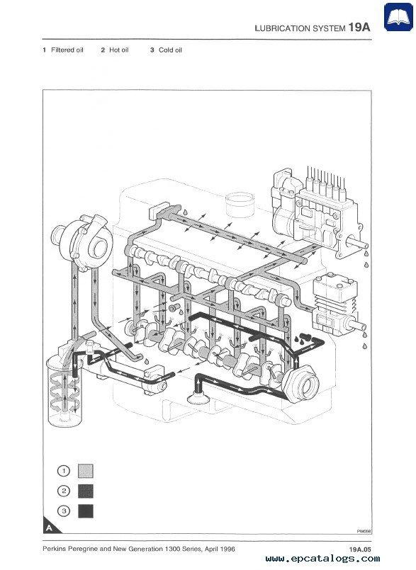 perkins 1300 series fuel filters