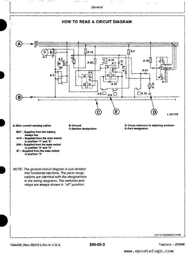 John Deere 2555 Wiring Diagram circuit diagram template