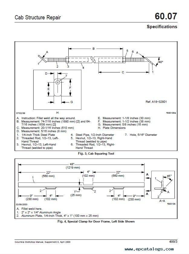 Freightliner Columbia Workshop Manual PDF Instant Download