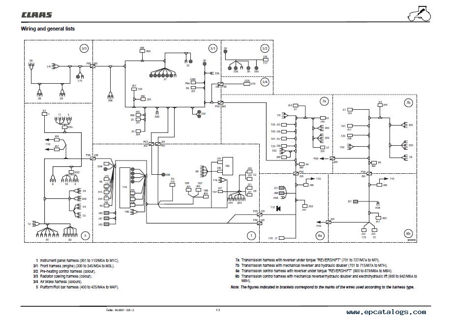 renault tractor wiring diagram