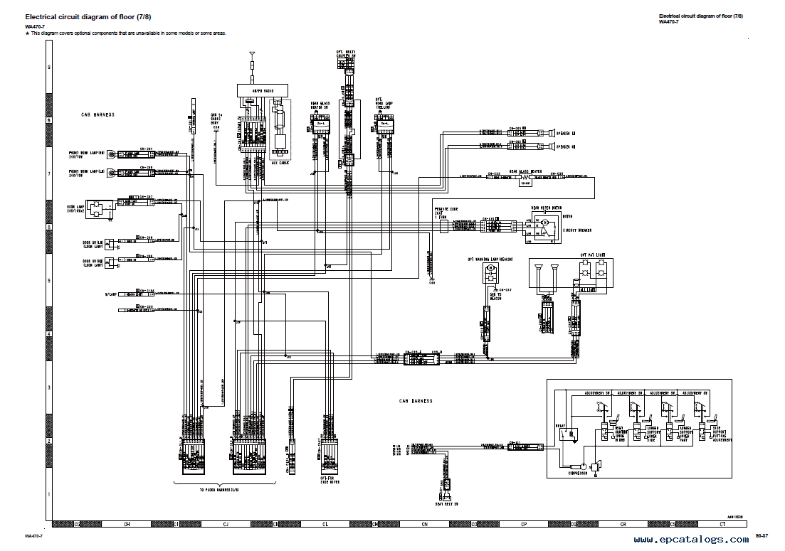 forklift wiring diagrams