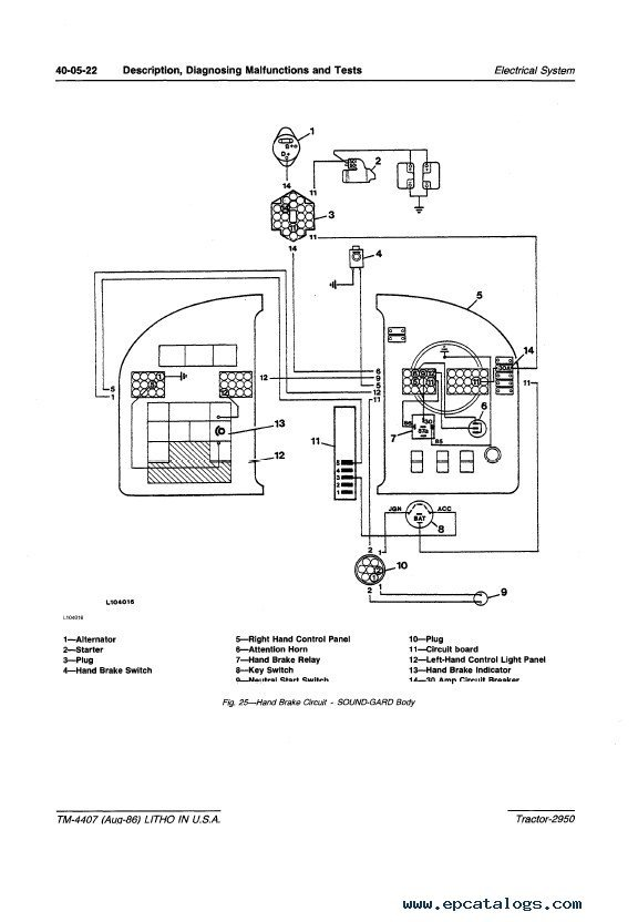 jd 2950 wiring diagrams