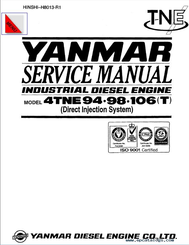 yanmar diesel engine service manual pdf