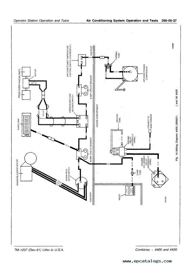 john deere 9500 combine wiring diagrams
