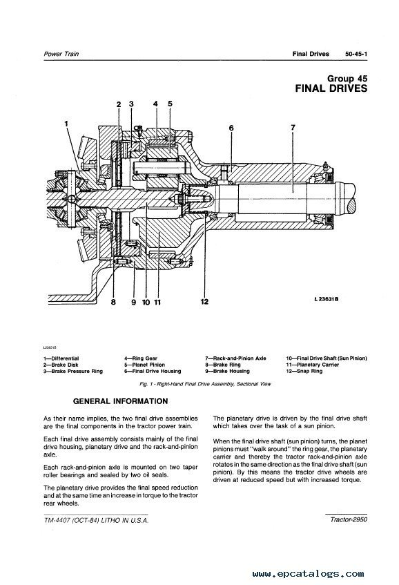 online john deere 2950 wiring diagram