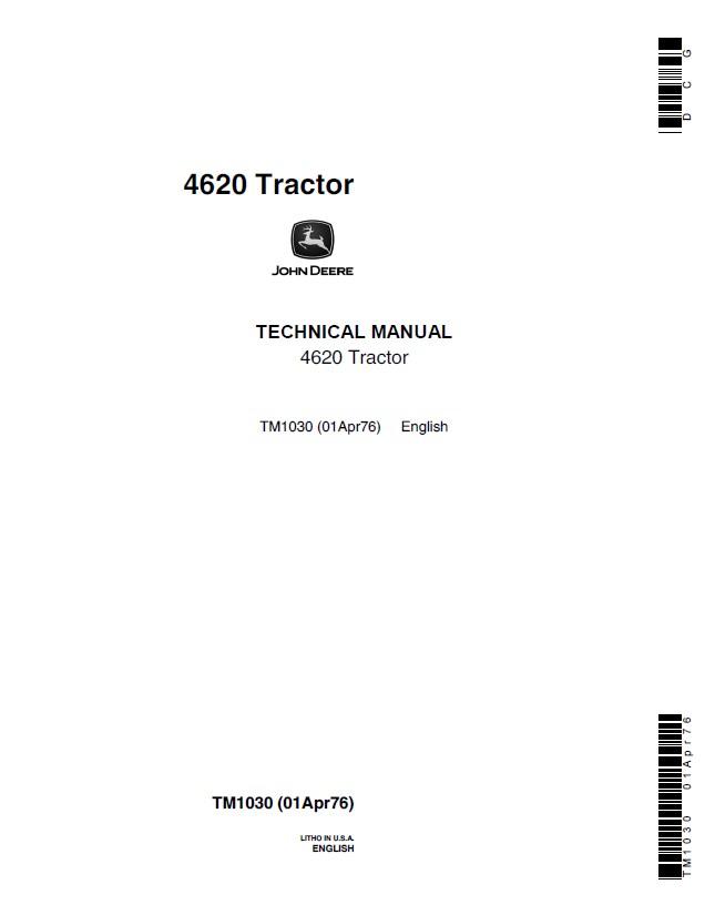 John Deere 4620 Wiring Diagram Wiring Diagram