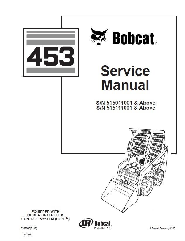bobcat skid steer wiring diagrams
