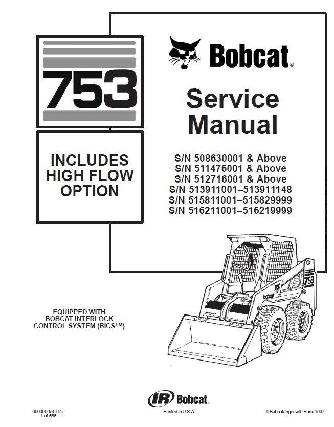 Bobcat 753 Electrical Diagram - 6jheemmvvsouthdarfurradioinfo \u2022