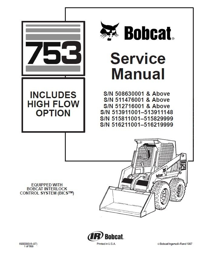 Bobcat 753 Wiring Diagram Free - Somurich