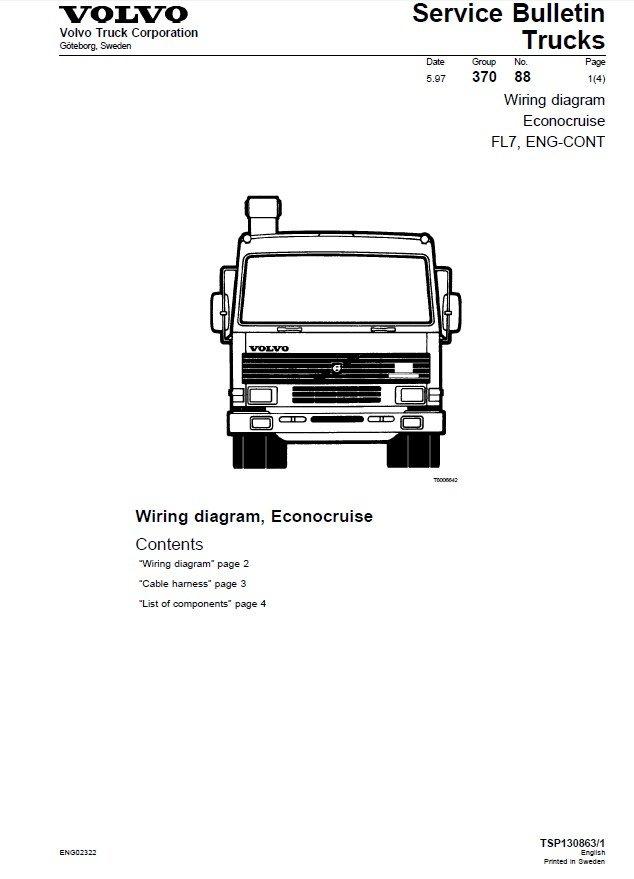 Wiring Diagram Volvo Fl10 Online Wiring Diagram