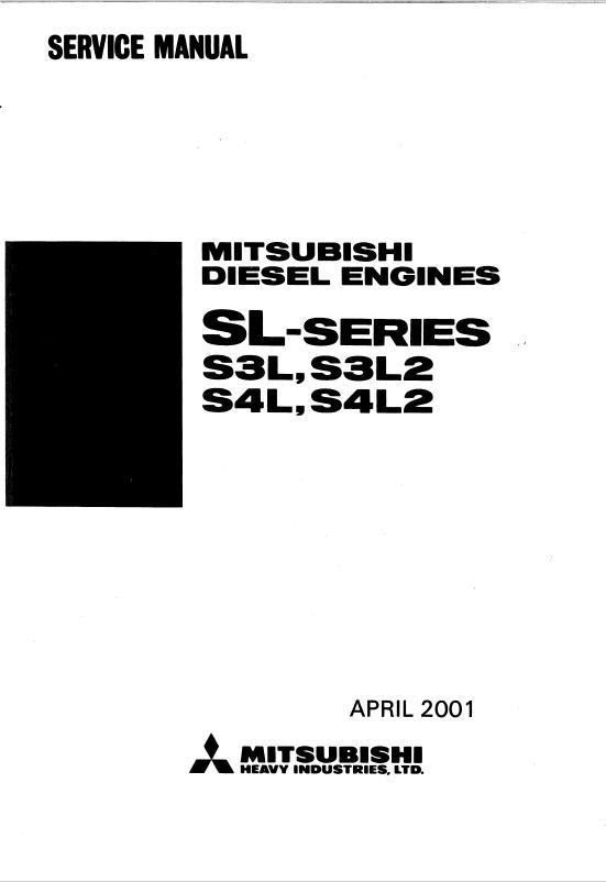 mitsubishi s4l2 engine parts manual