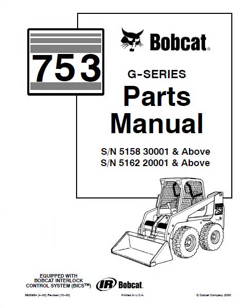 753 bobcat skid steer wiring diagram