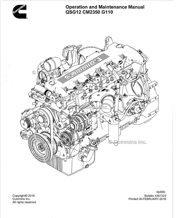 cummins engine parts manual