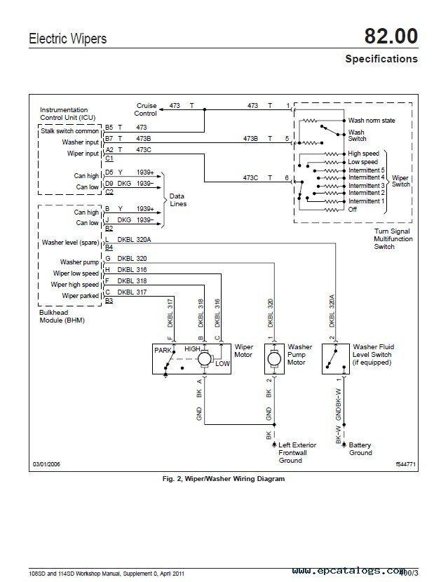 Freightliner 108SD  114SD Workshop Manual PDF