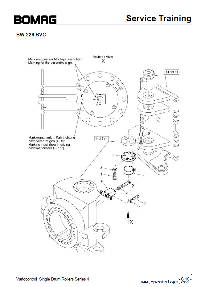 bomag bw 332 single drum vibratory roller circuit diagram