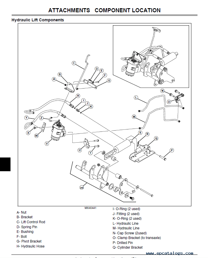 john deere x304 wiring diagram