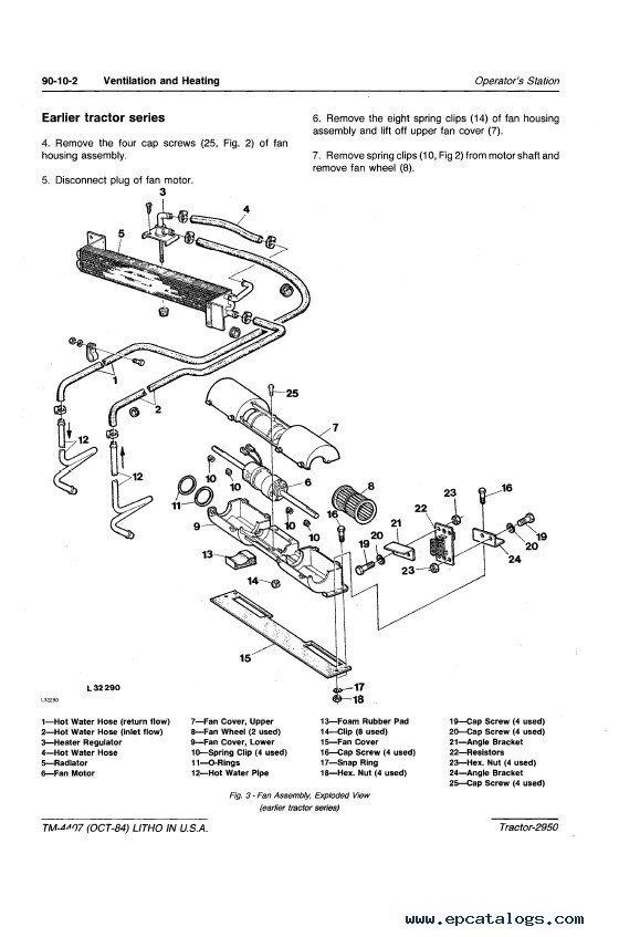 john deere 2950 alternator wiring diagram