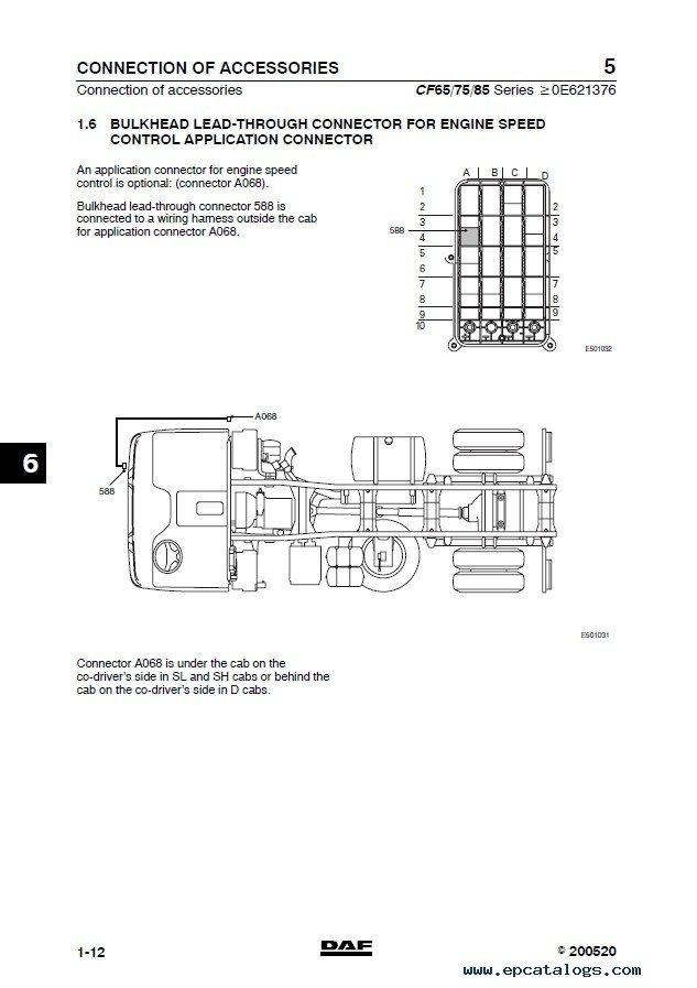 Daf 105 Electrical Wiring Diagram Auto Repair Manual Forum Heavy