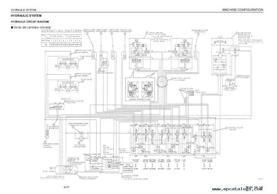 takeuchi tl140 wiring diagram
