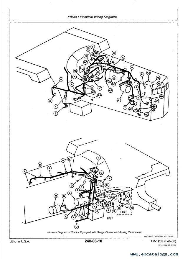 john deere 4250 wiring diagram