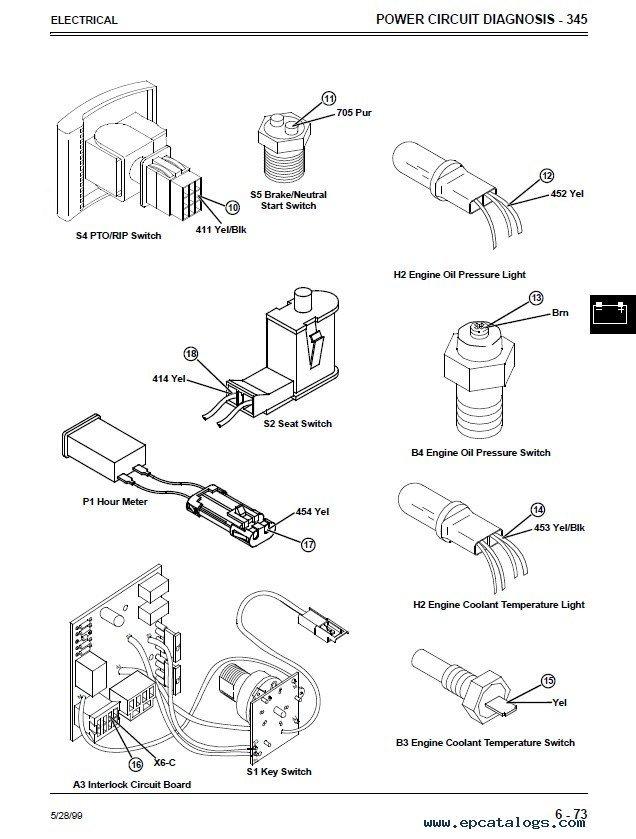 john deere 325 wiring schematic
