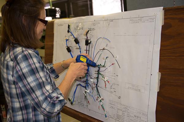 Wire Harness Board Into Wiring Diagram